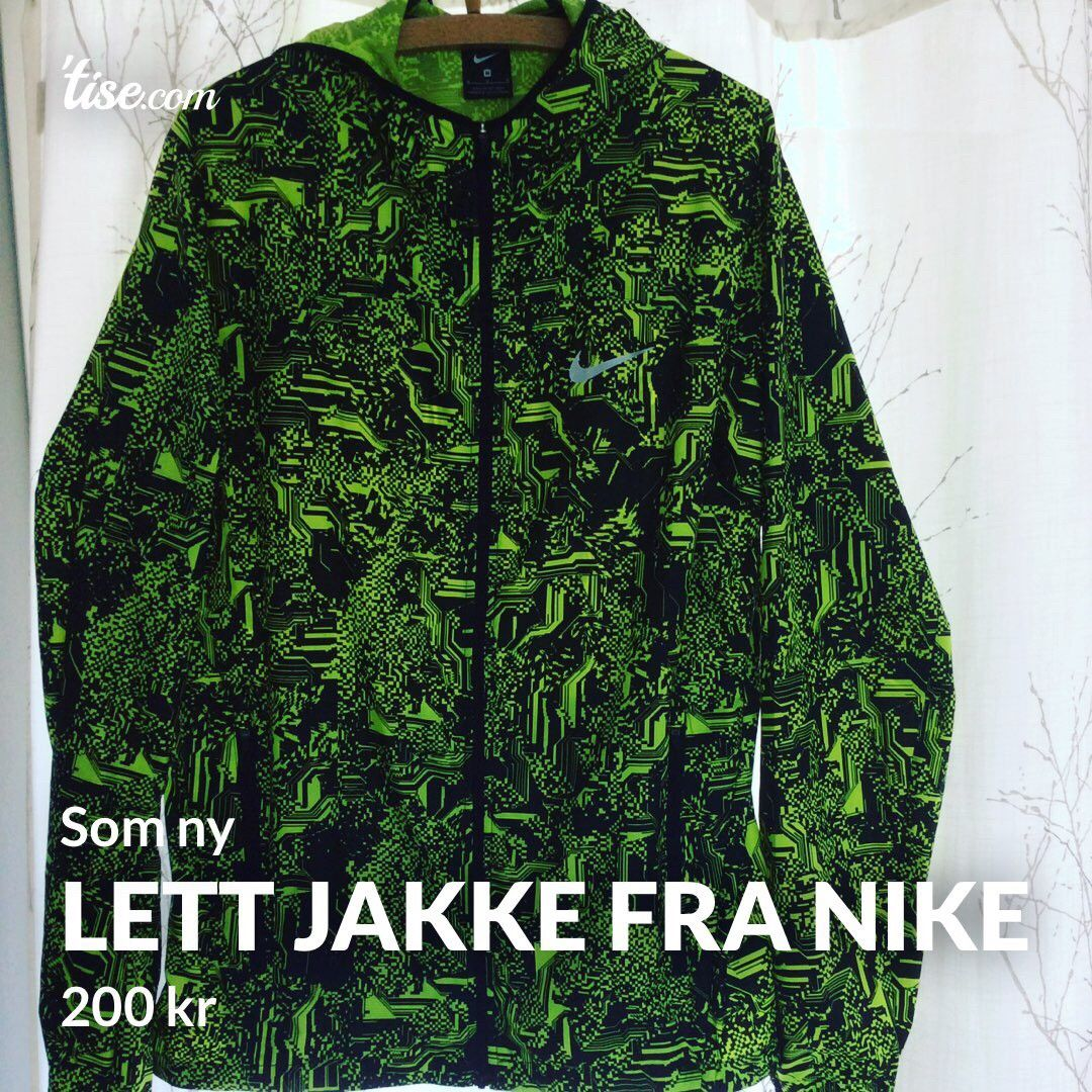 223ae0bd Lett jakke fra Nike - som ny | FINN.no