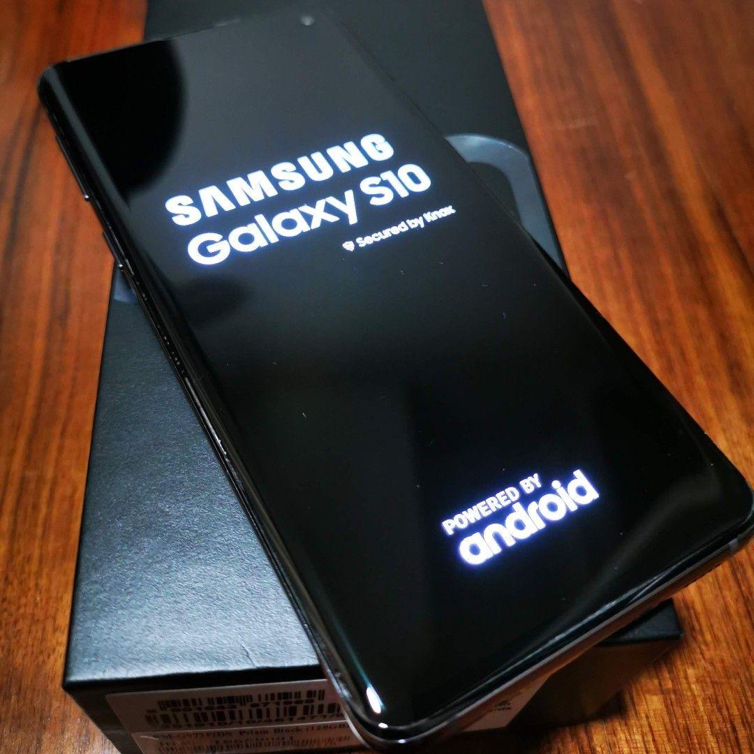2cfc87412 Selger min Samsung S10 Prism Black som ble kjøpt 27.06.19. Cover ...