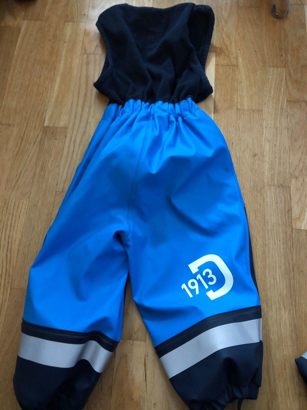c3462b55 Didrikson regnsett med fleece str 80 | FINN.no