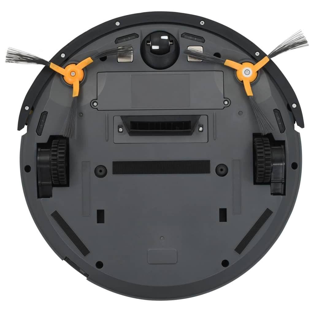 Køb vidaXL Robotstøvsuger automatisk 5 moduser WiFi app kontroll