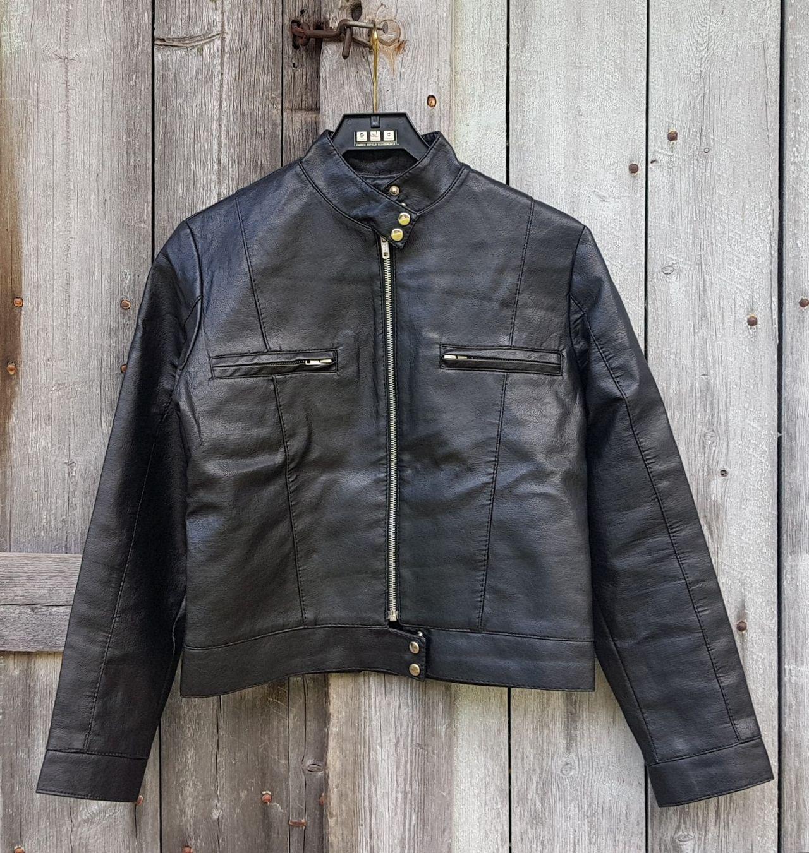 Vintage lær jakke | FINN.no