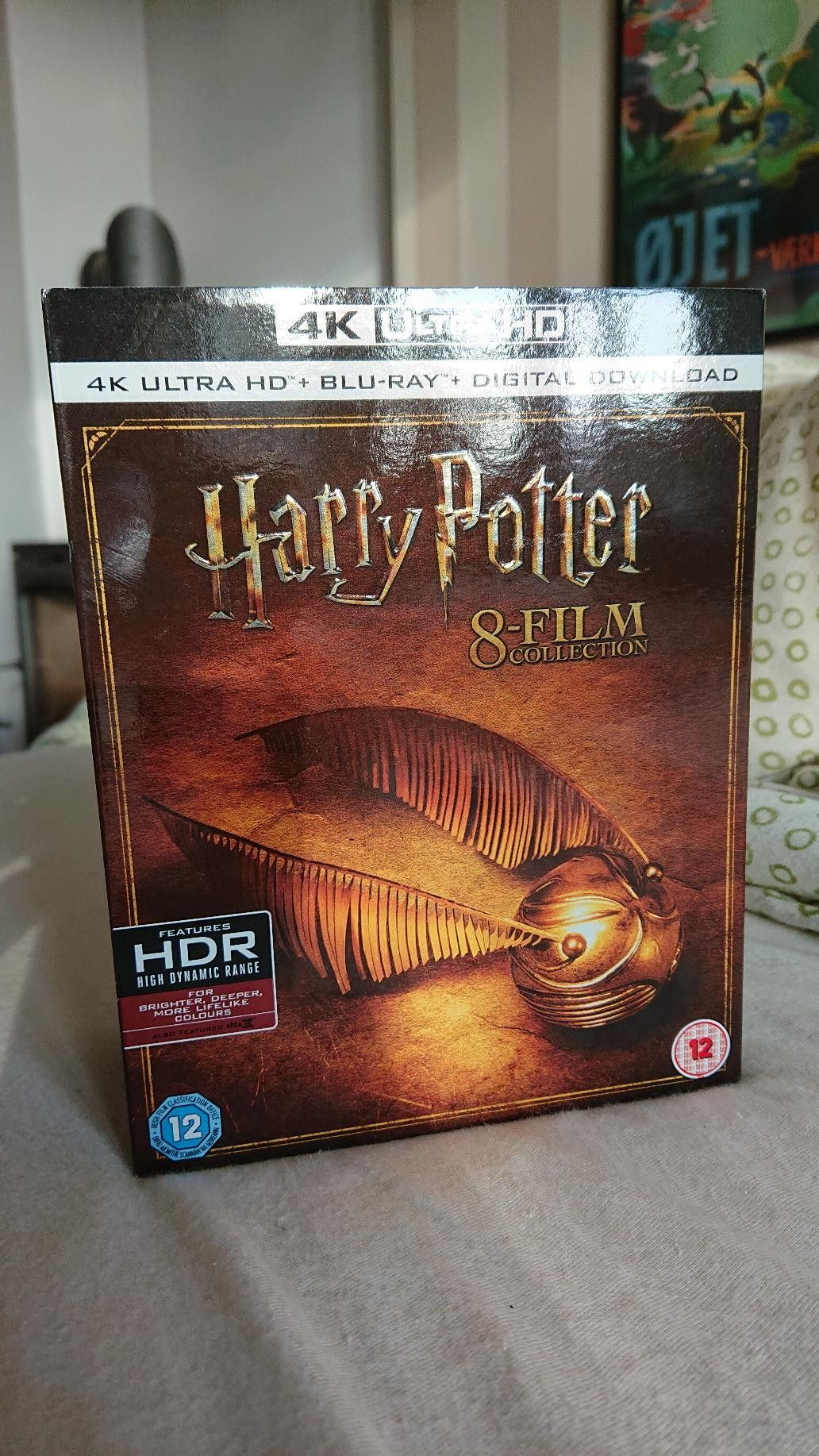 Harry Potter 8 film collection 4k Ultra HD Blu-ray | FINN no
