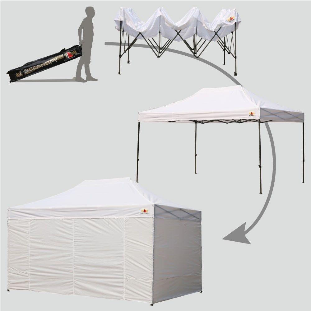 Kampanje   Spar 2000, på dette 3x3 meter pop up teltet