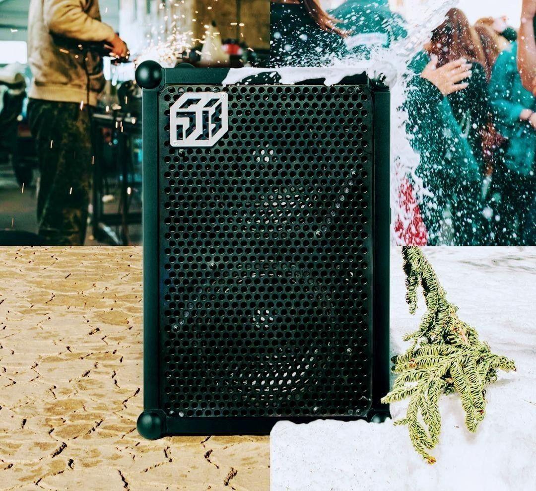 Soundboks 2 til utleie (1 2 stk) med mikrofon | FINN.no