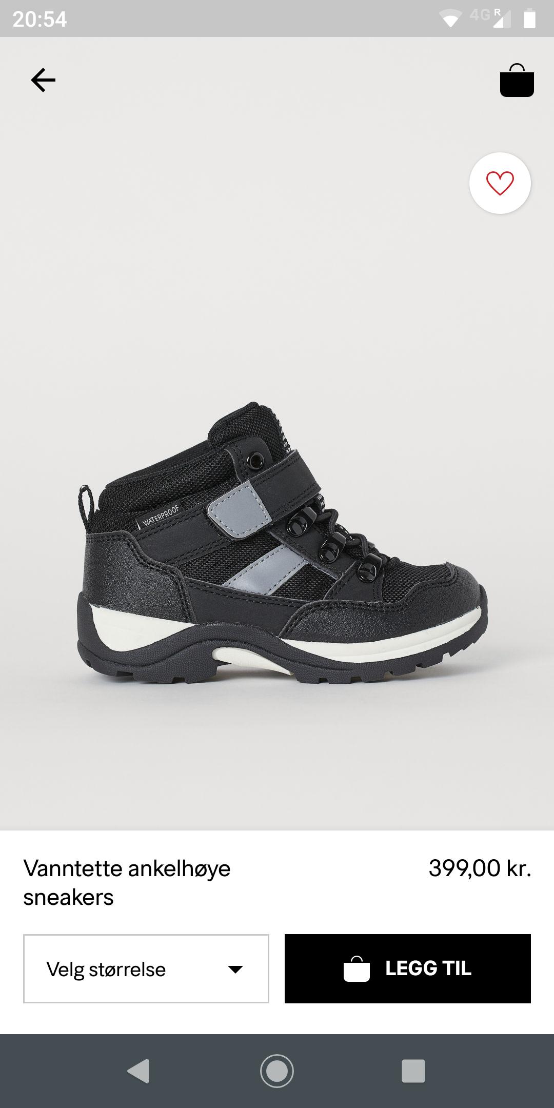 Vanntette sneakers   FINN.no