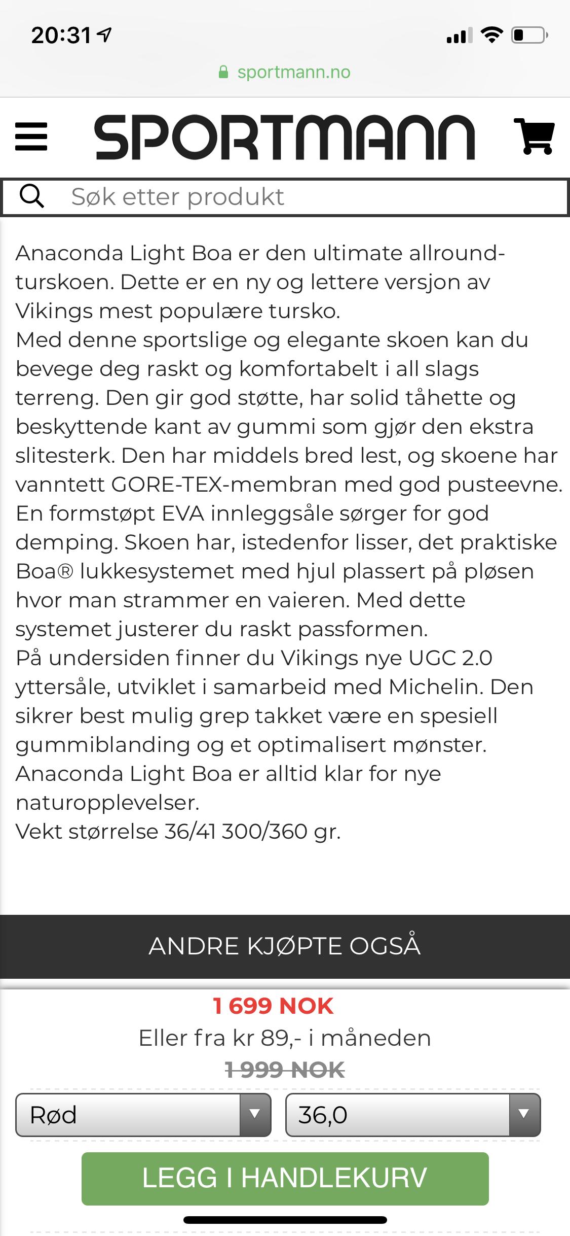Viking sko og støvler til Dame | Sportmann.no Sportmann
