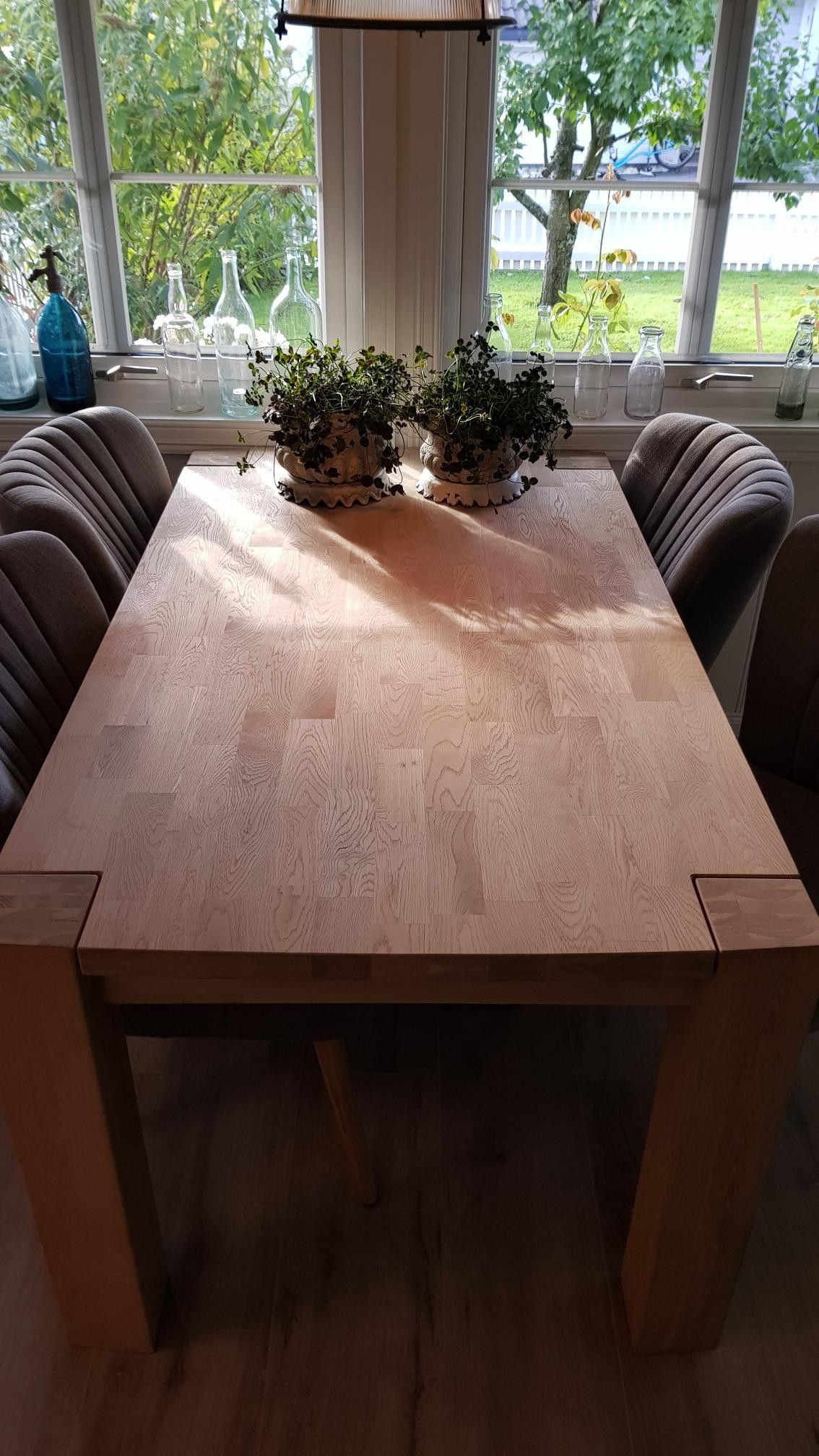 Verona spisebordBrooklyn stoler grå. | FINN.no
