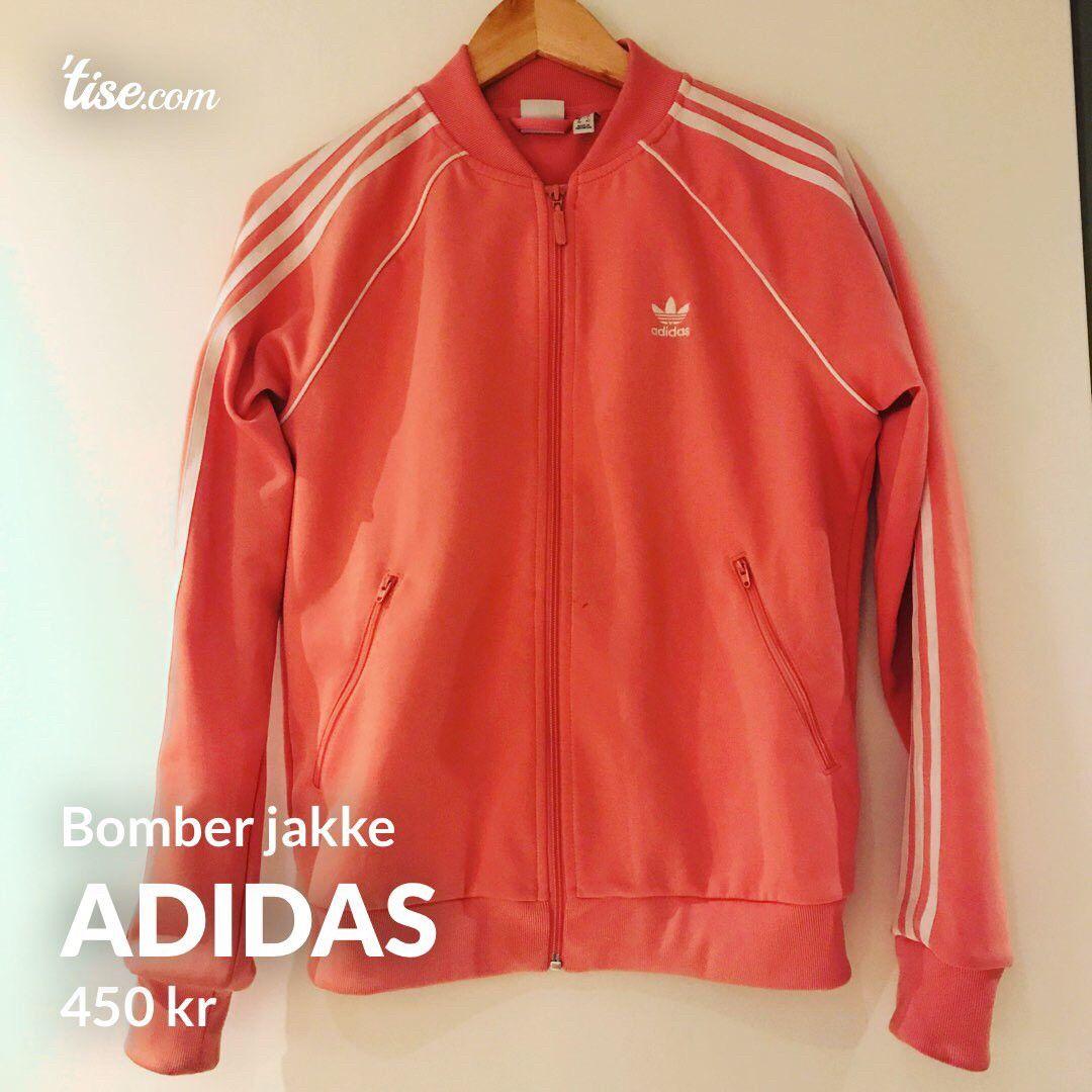 Adidas bomber jakke i S | FINN.no