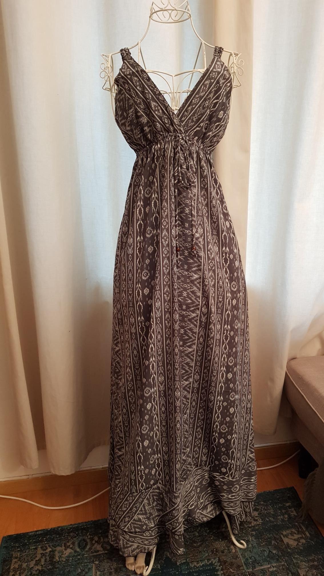 Lang sommer kjole xs | FINN.no