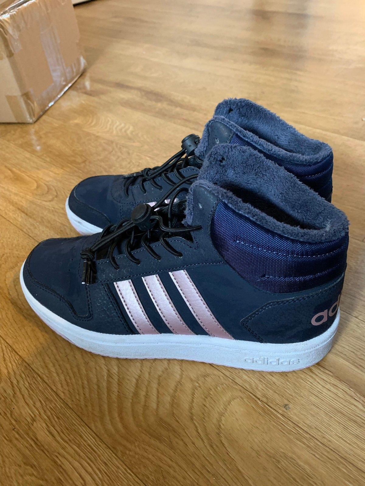 Adidas hoops mid sko str 37 13 | FINN.no