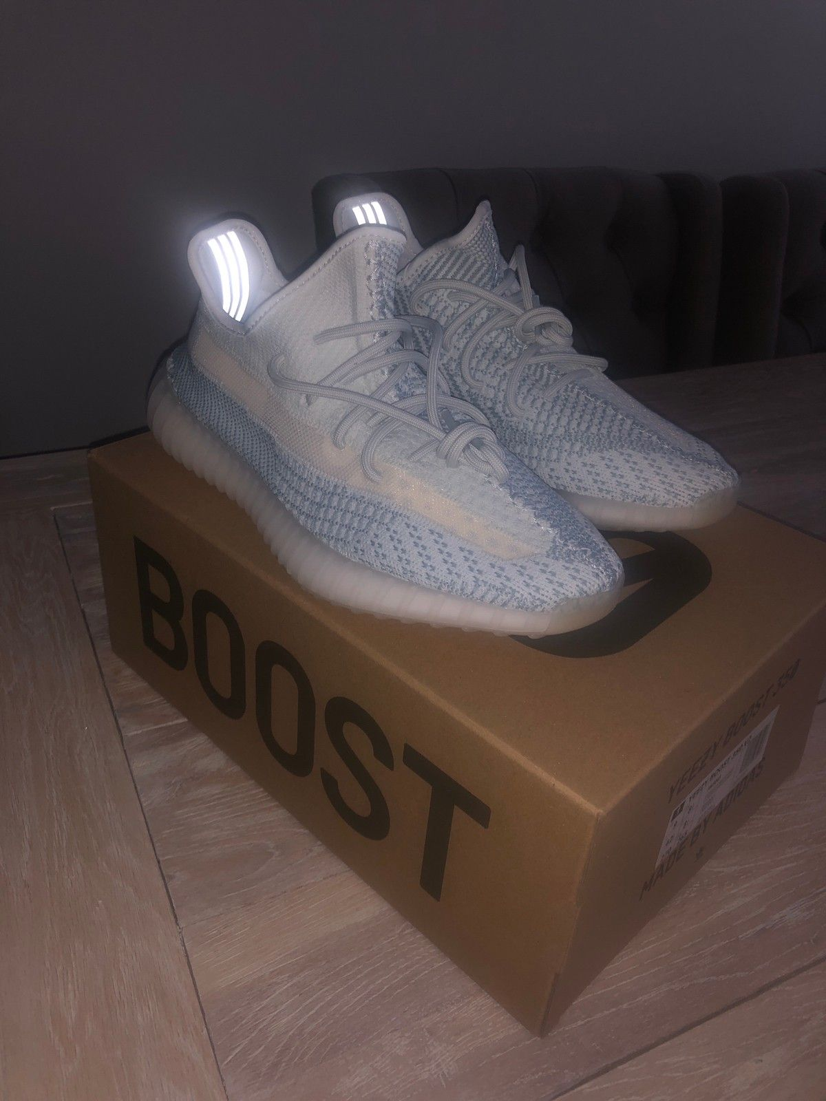 Adidas Yeezy Boost 350 V2 Cloud White Non Reflective