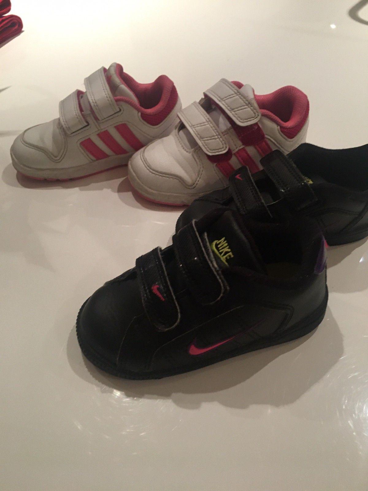 Nike og Adidas sko Str 22 | FINN.no