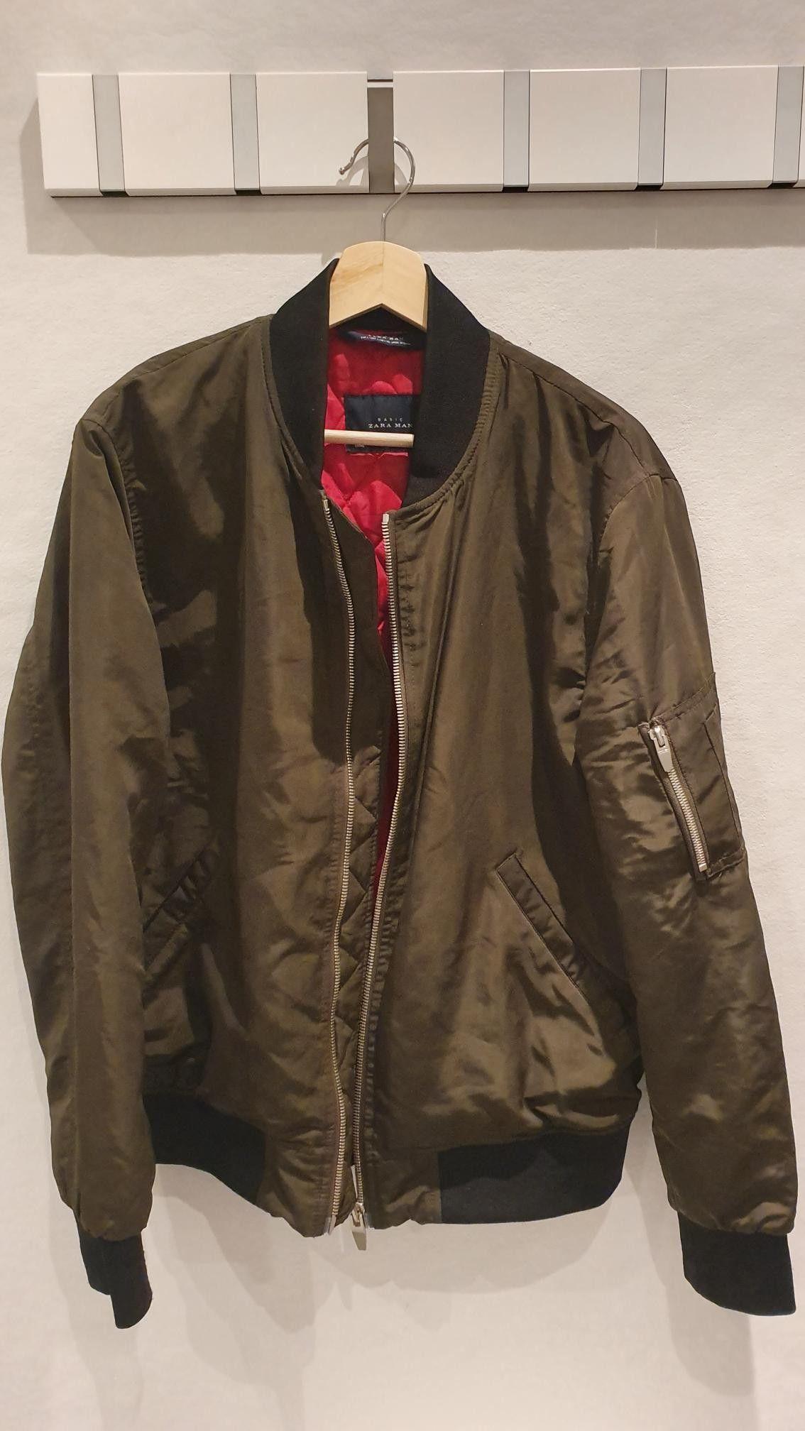 Bomber jakke Zara str M | FINN.no