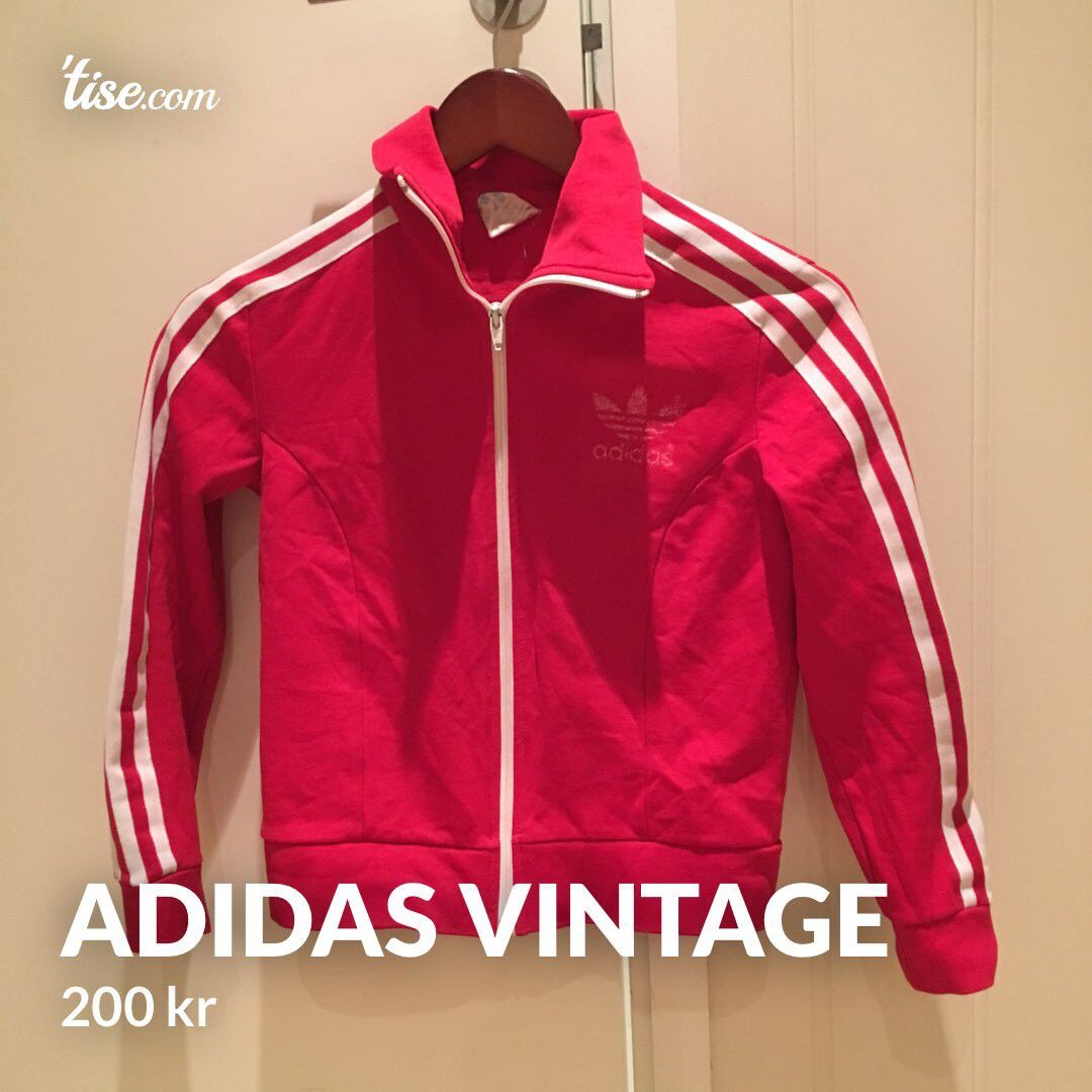 Adidas vintage jakke   FINN.no