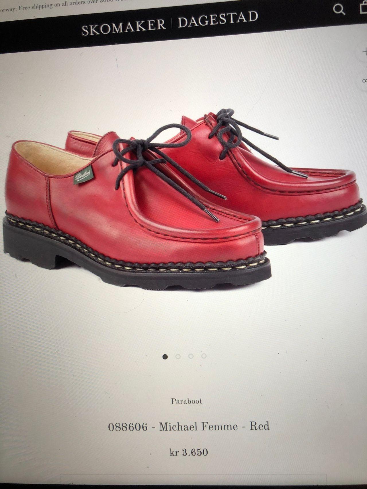 Paraboot sko til dame   FINN.no