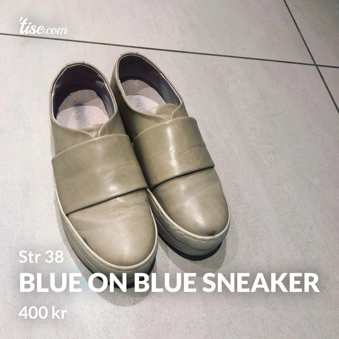 Blue on Blue Sneakers | FINN.no