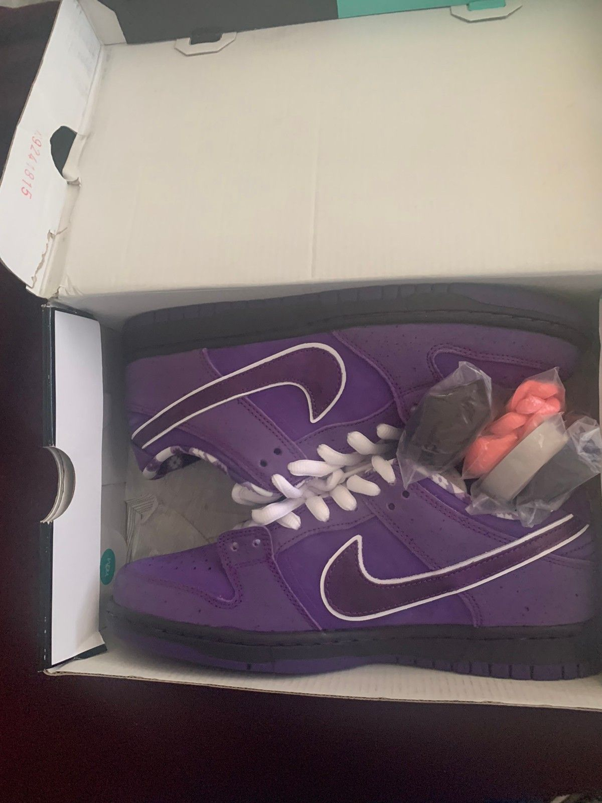 Nike sb purple lobster ds damaged box | FINN.no