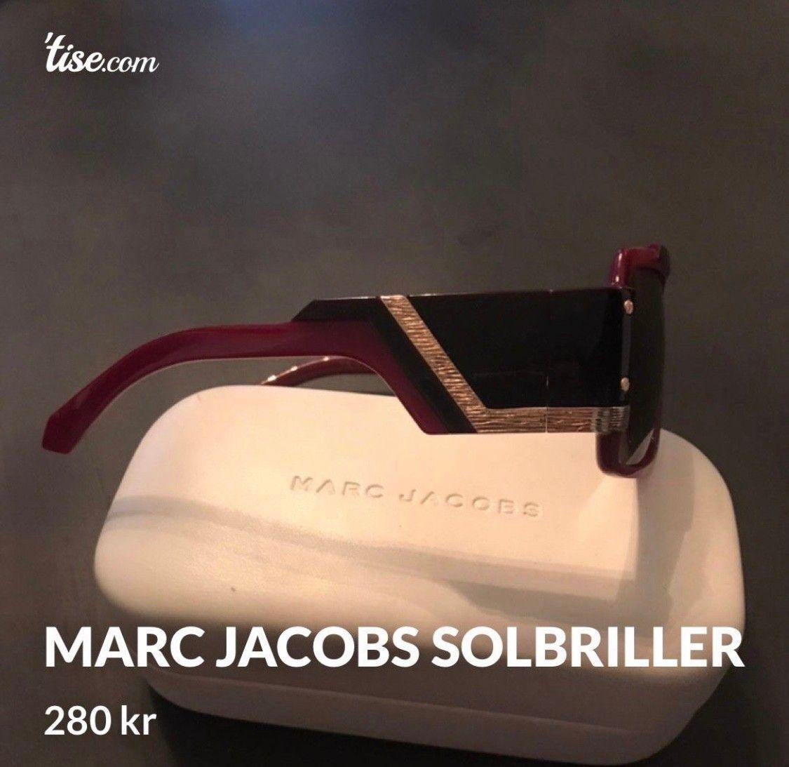 Marc jacobs solbriller selges | FINN.no