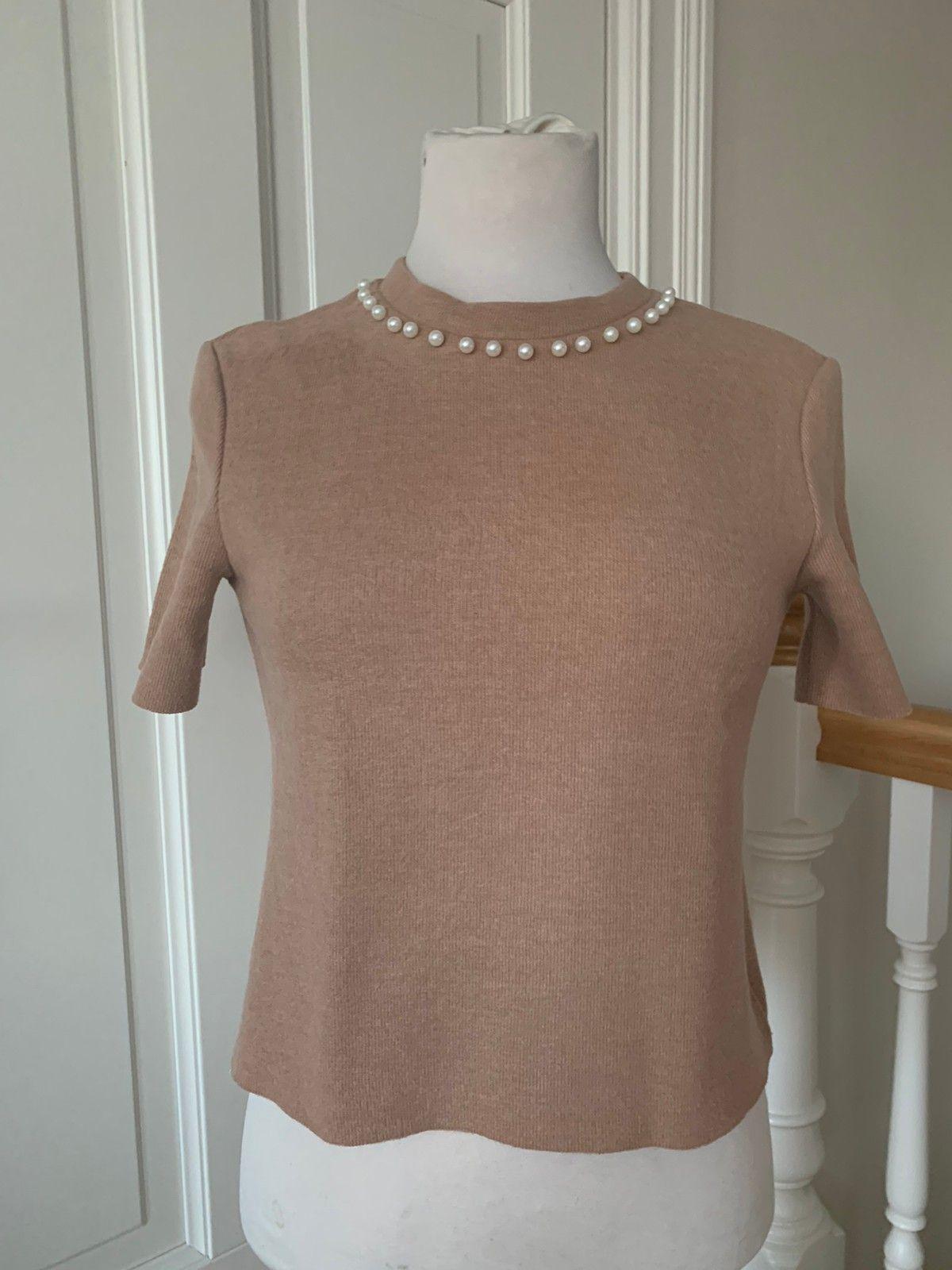 genser med perler zara