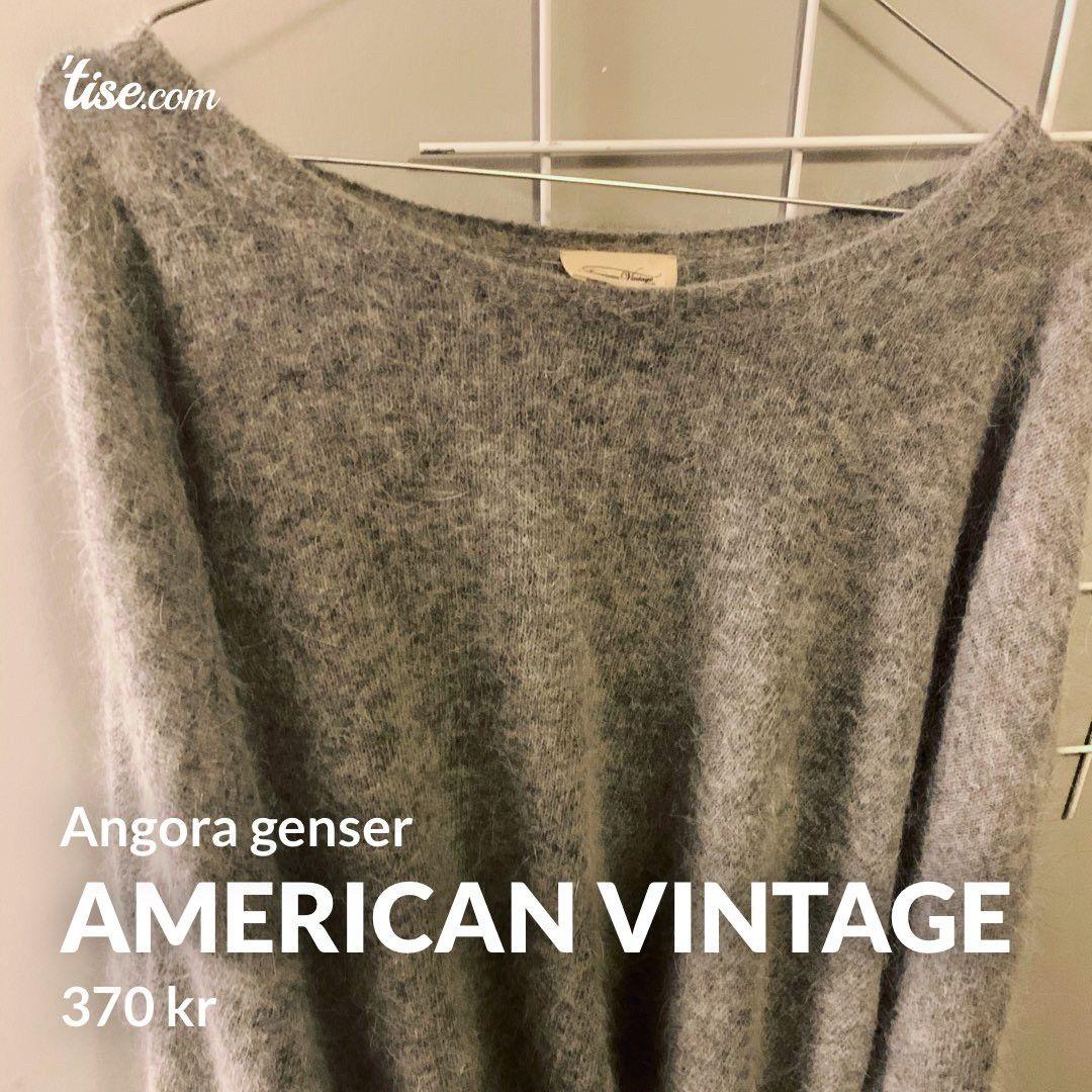 American Vintage angora genser str ML | FINN.no