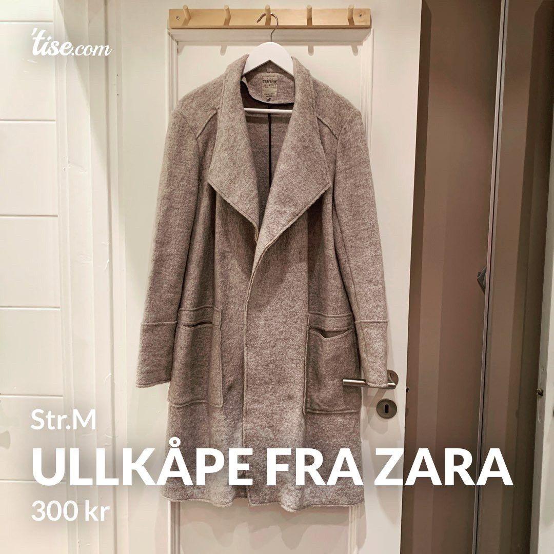 Ullkåpe fra Zara str L. | FINN.no