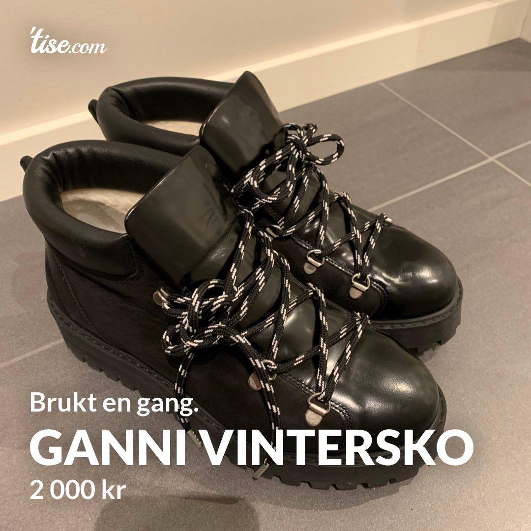 Ganni vinterskostøvler str. 38   FINN.no