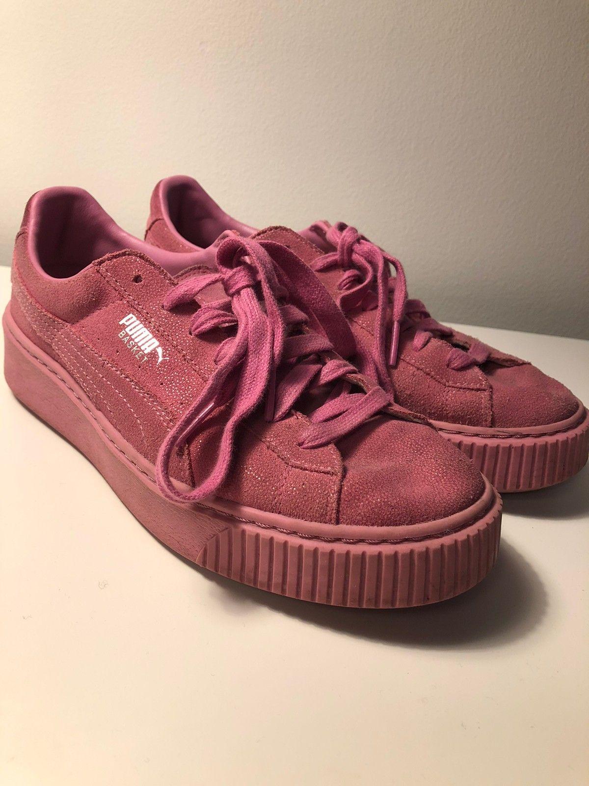 Rosa Puma Platform Reset Sneakers | FINN.no