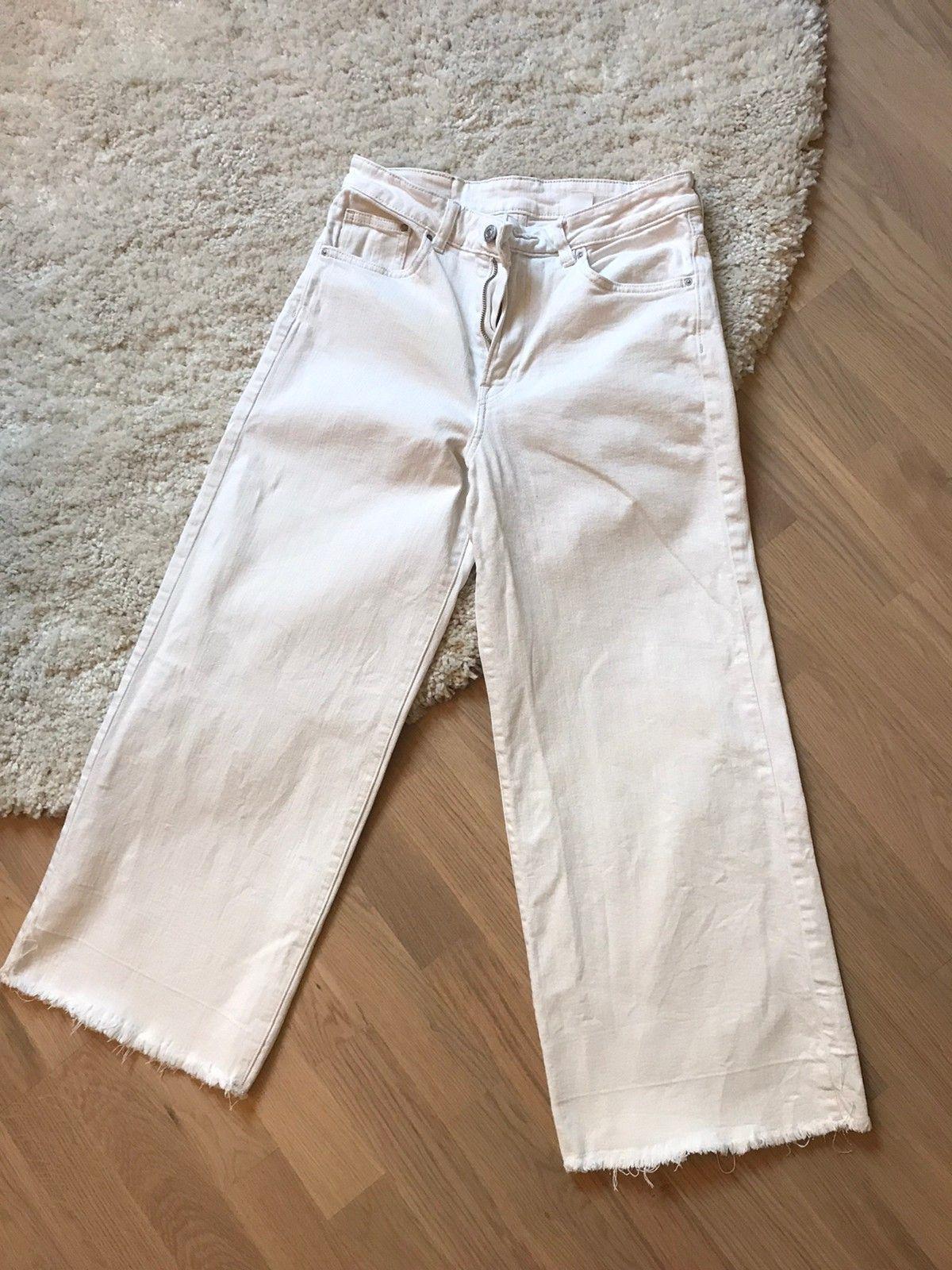 Hvit bukse hm | FINN.no