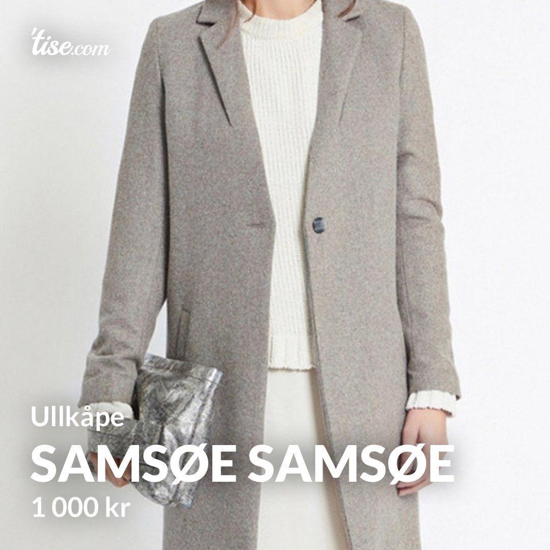 Samsøe & Samsøe kåpe | FINN.no
