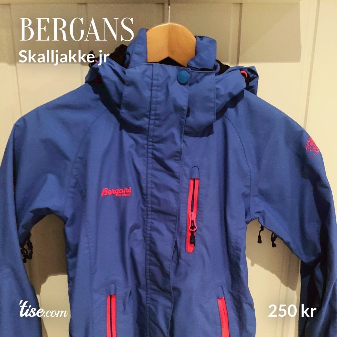Bergans allværsjakke | FINN.no