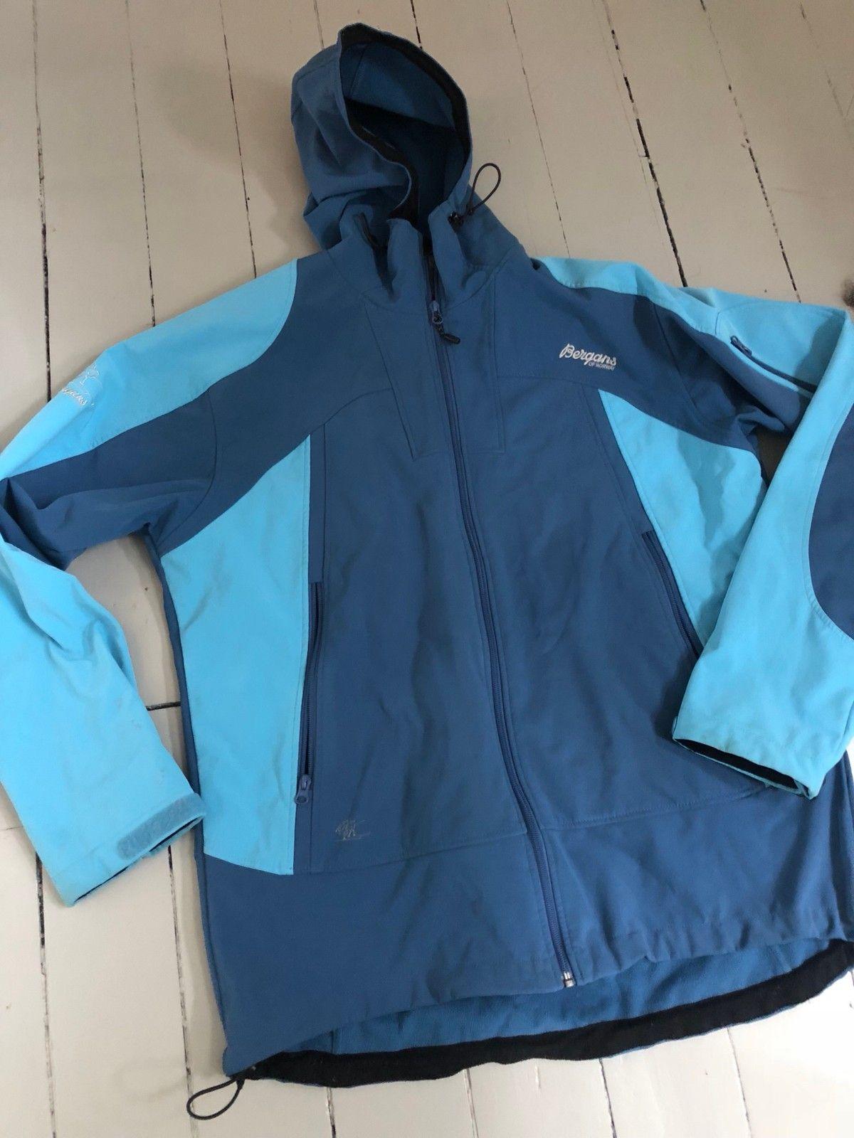 Bergans softshell jakke, herre | FINN.no