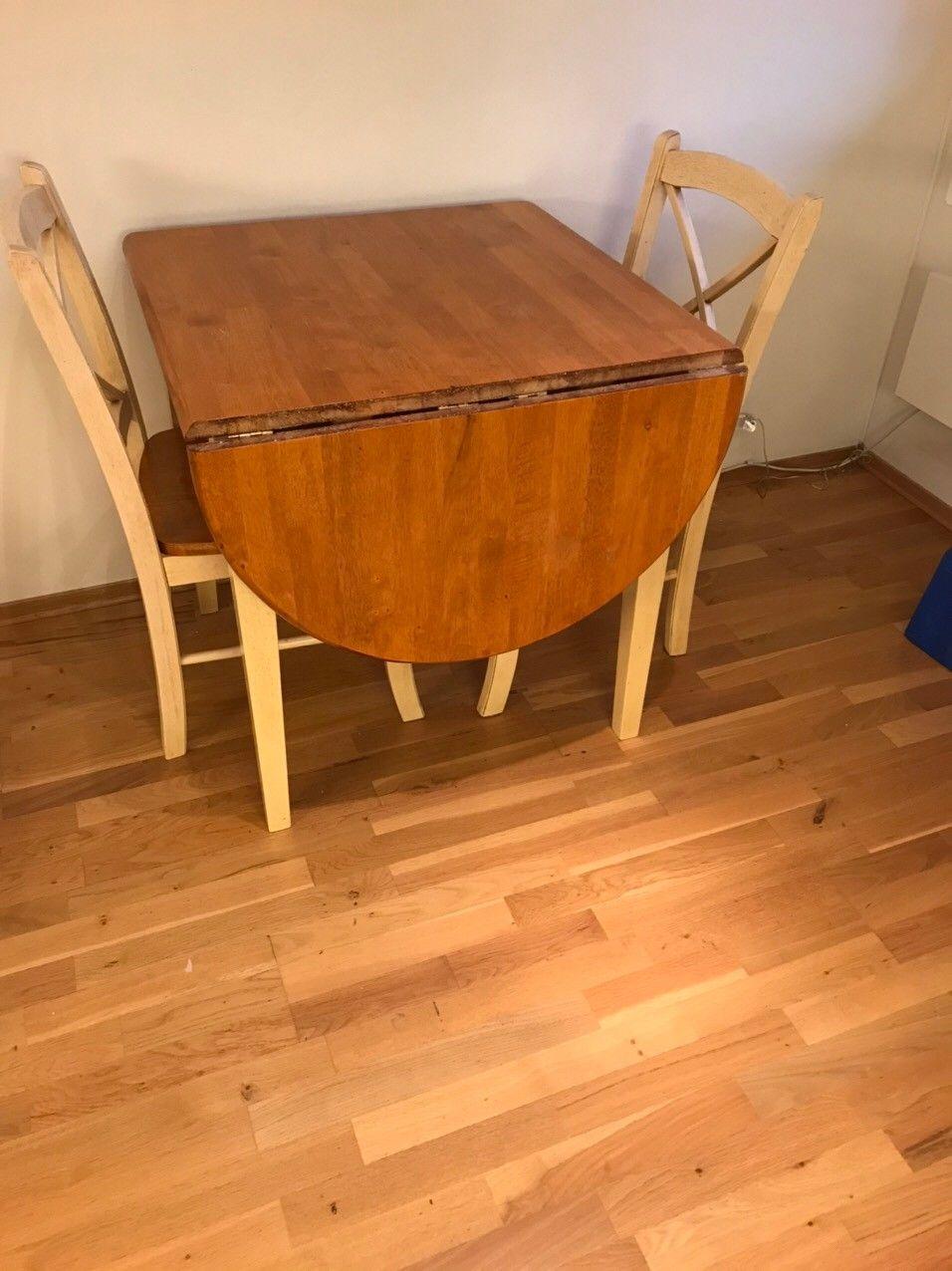 Lite bord med 2 stoler Kjøpe, selge og utveksle annonser