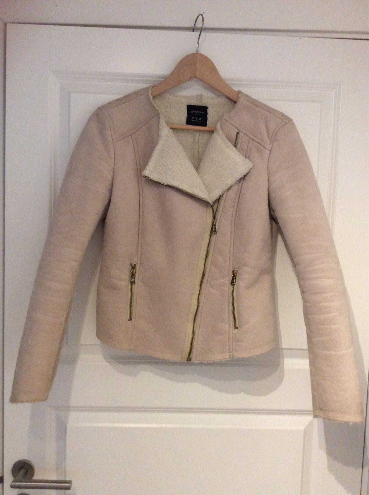 Zara semsket skinn jakke | FINN.no