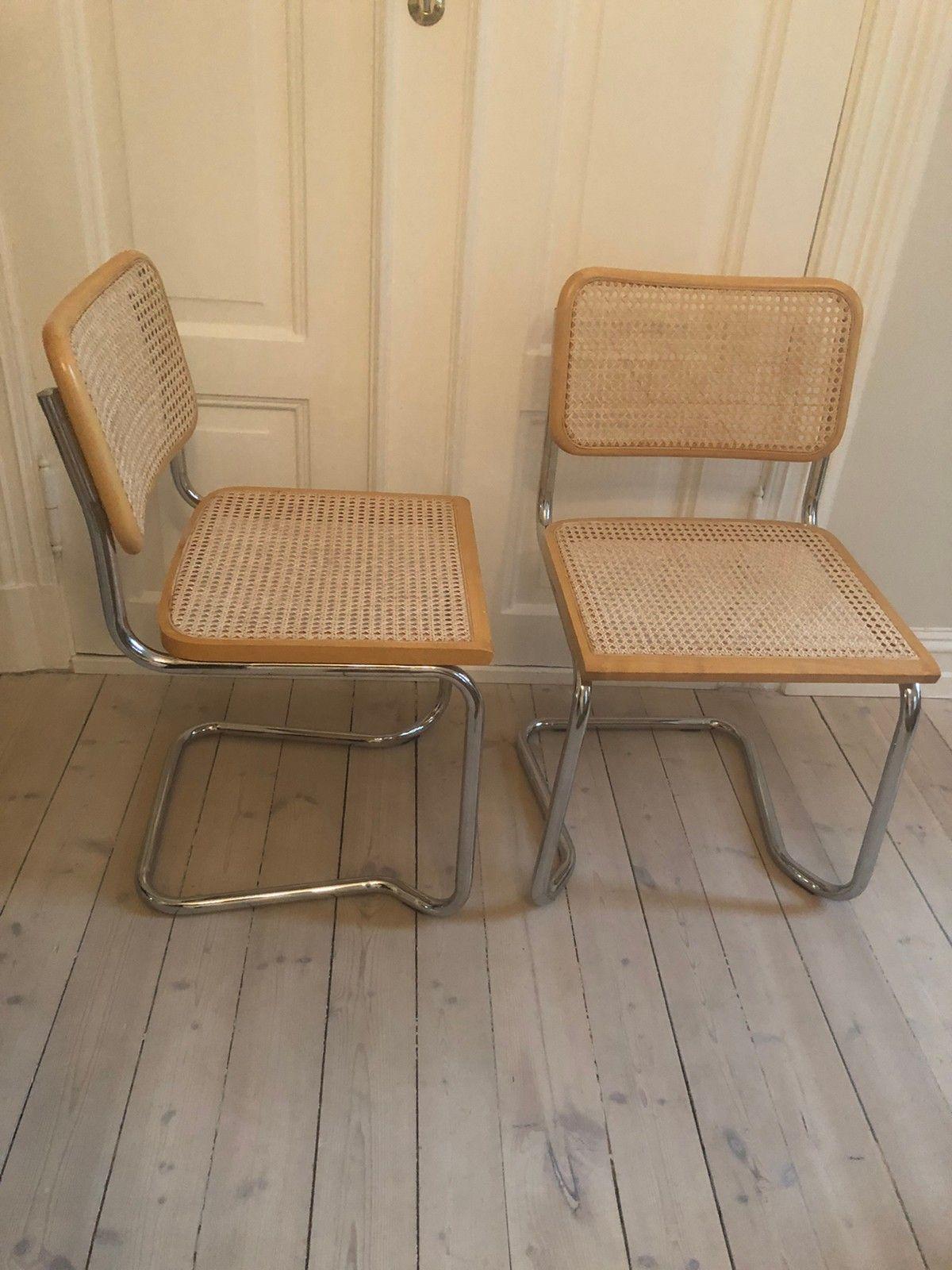 4 Cesca Bauhaus stoler med ny rotting RESERVERT | FINN.no