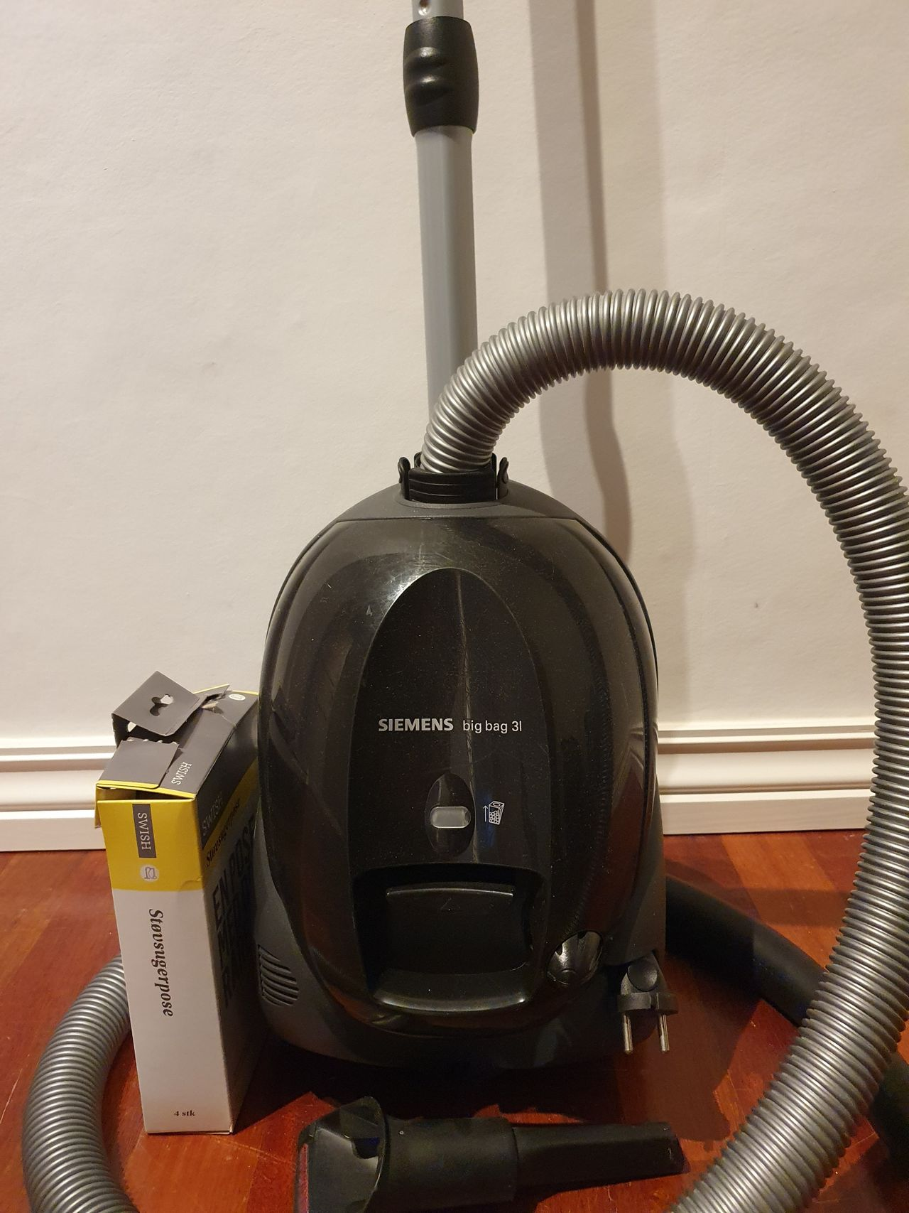 Simens BigBag 3l støvsuger | FINN.no