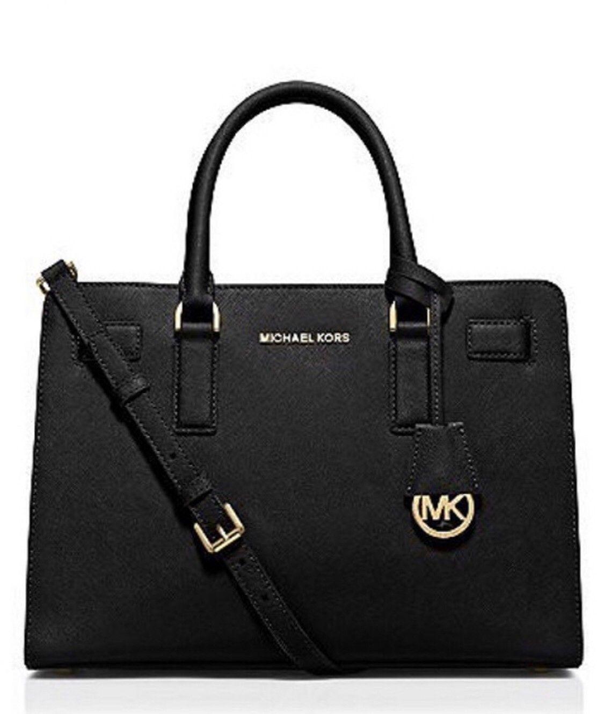 Best pris på Michael Kors Selma Saffiano Leather Mini