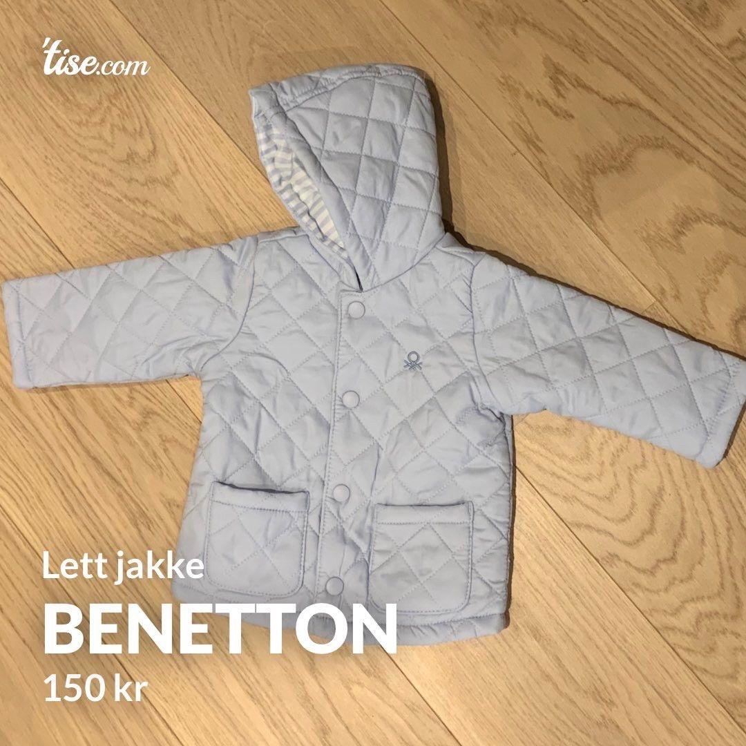 Benetton jakke baby str 56   FINN.no