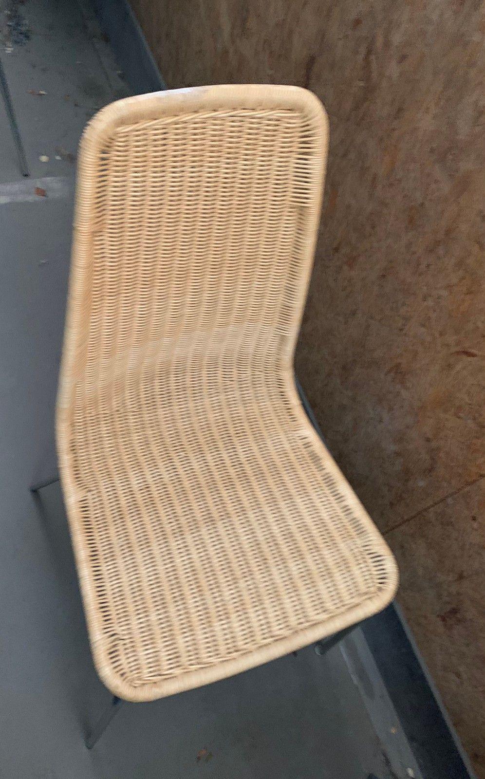 Picture of: 2 Stk Ikea Linus Flettet Rotting Stol Spisestol Kjokkenstol Rorstol Finn No