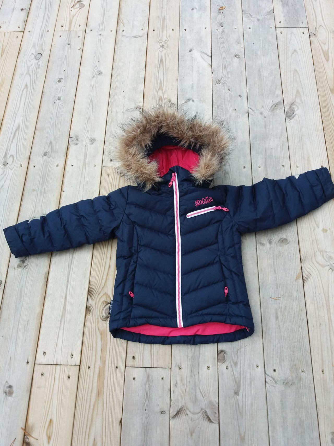 Skogstad jakke med dun str. 4 år   FINN.no