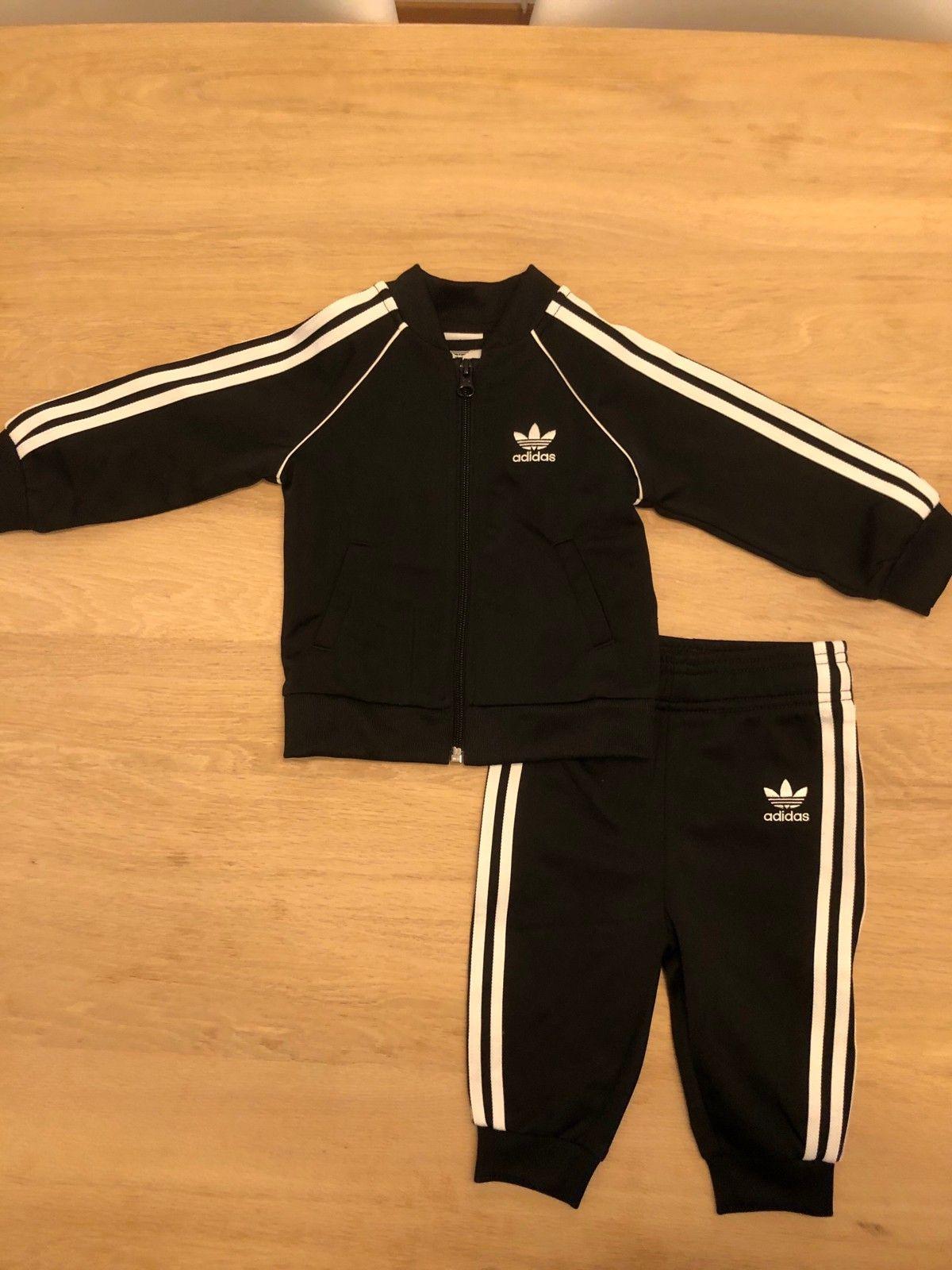 Adidas Originals Tracksuit Set Treningsdress Black White