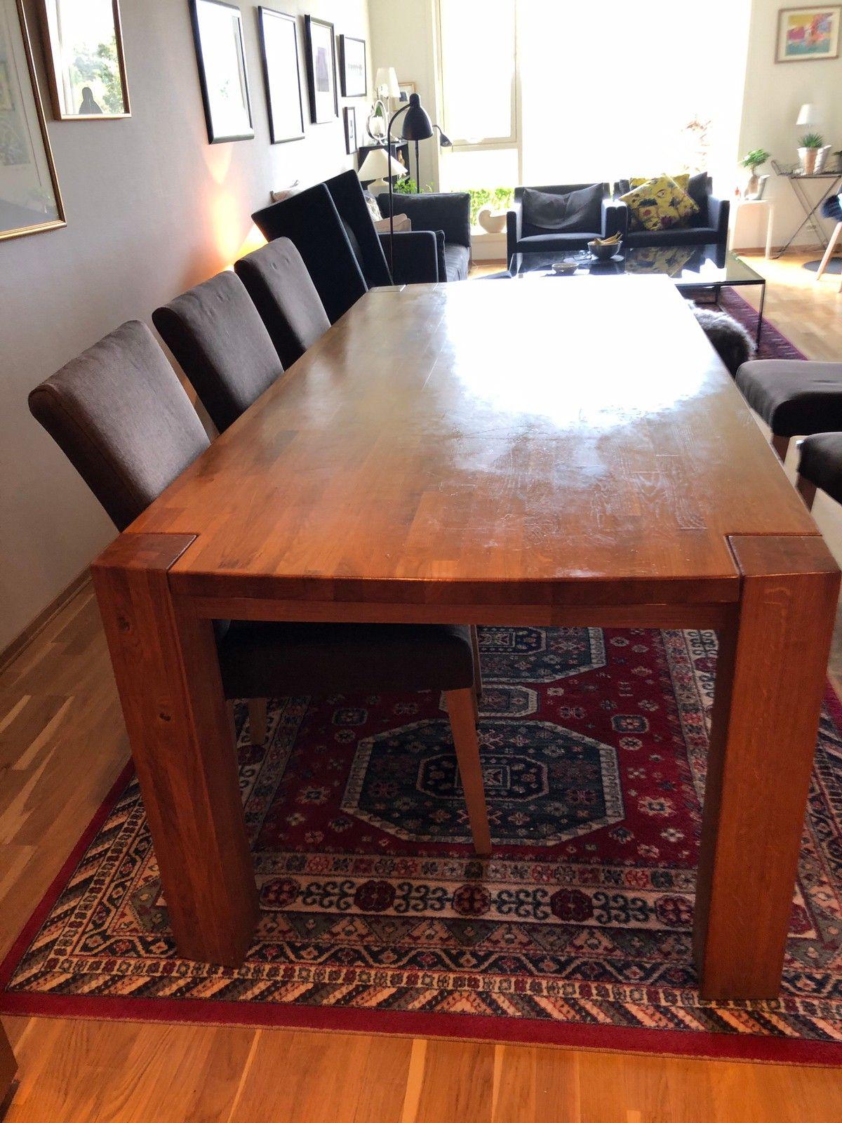 Stk spisebord stoler Kjøpe, selge og utveksle annonser de