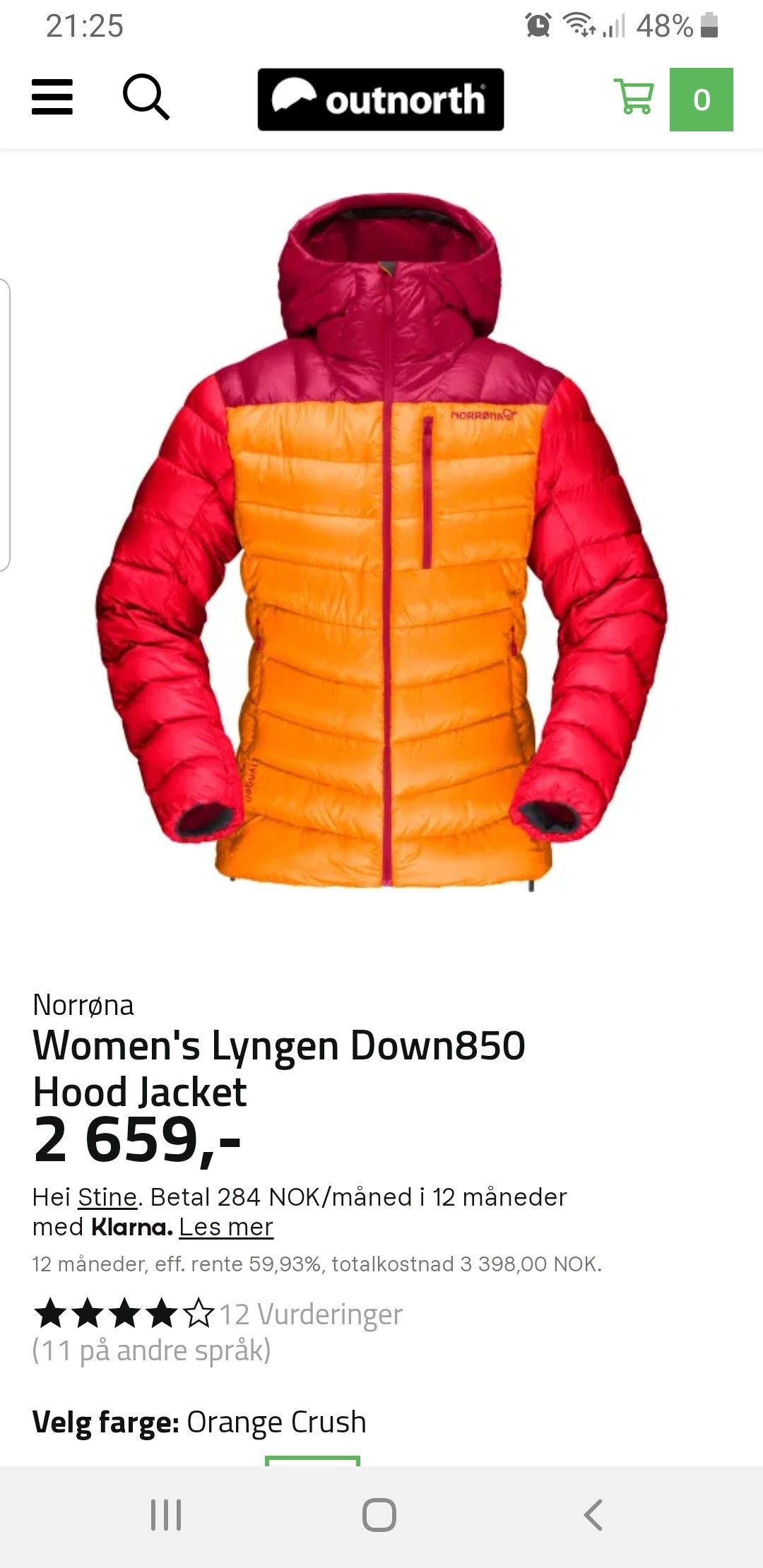 Kjøp Norrøna Men's Lyngen Down850 Hood Jacket fra Outnorth