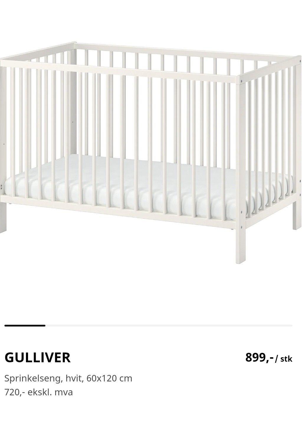 IKEA Gulliver sprinkelseng   FINN.no