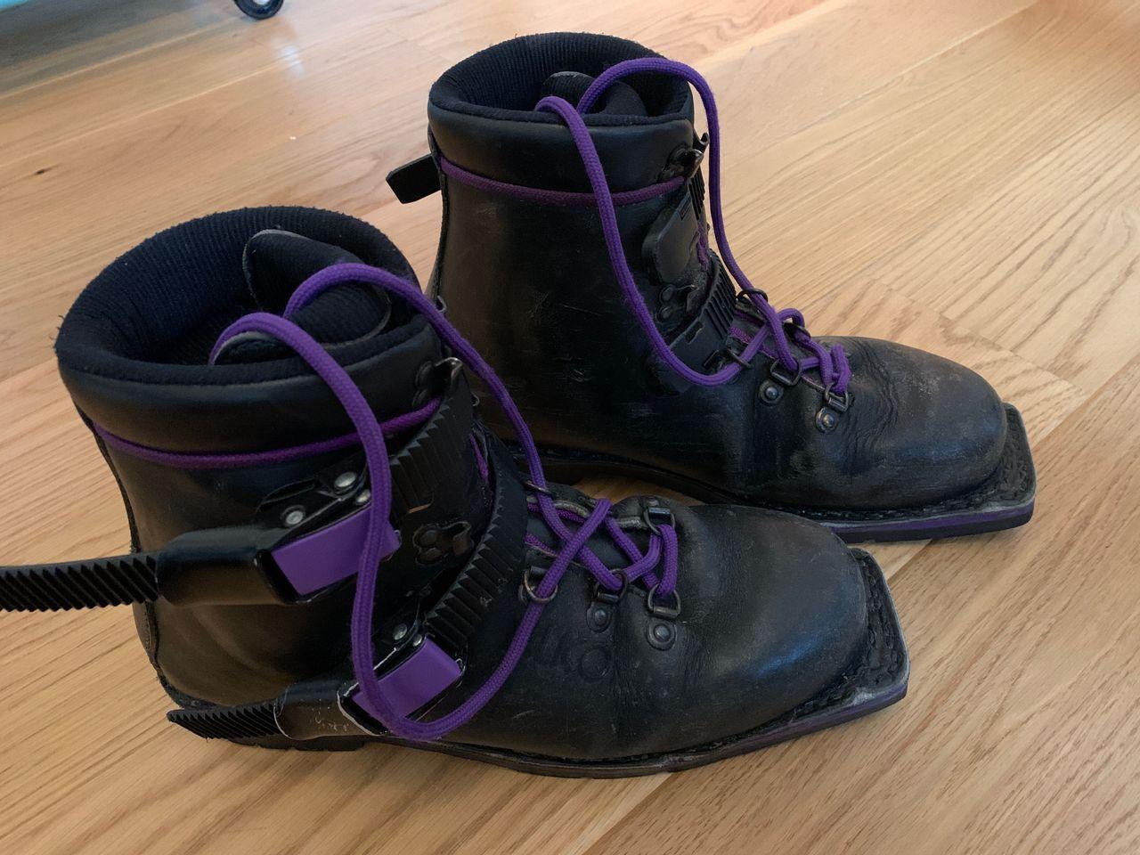 Alico fjellski støvler i lær str. 36 for RottefellaVoile 75