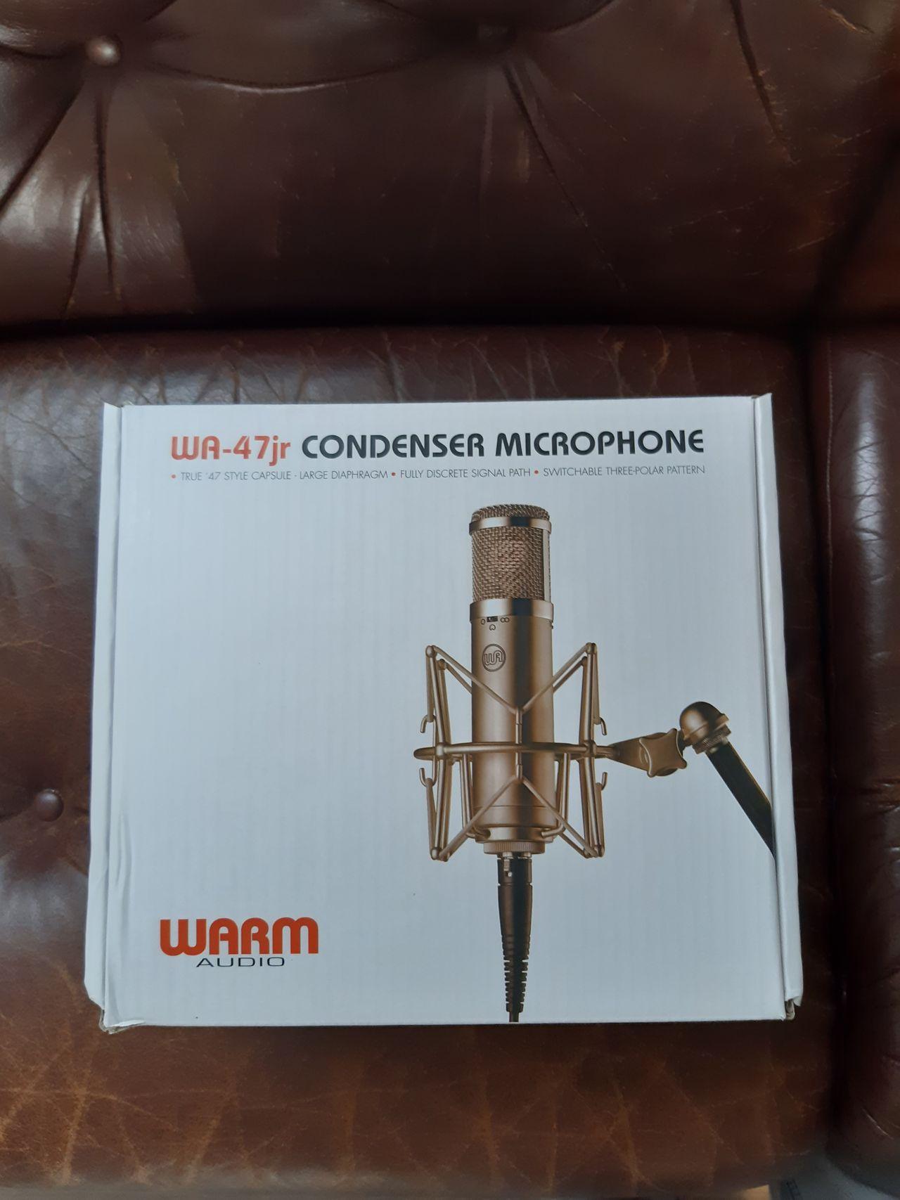 Neumann U47 FET | Stormembran kondensatormikrofon
