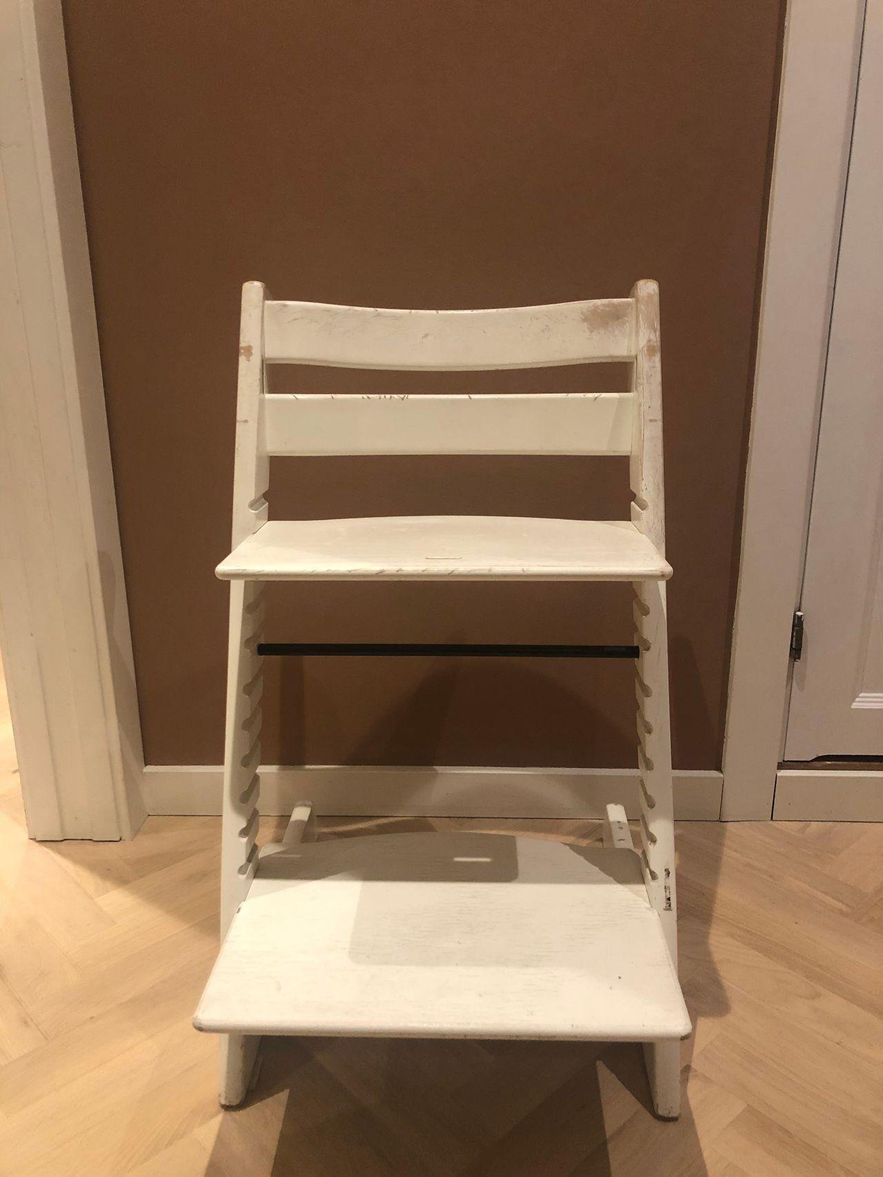 Stokke tripp trapp stol pent brukt Kjøpe, selge og utveksle
