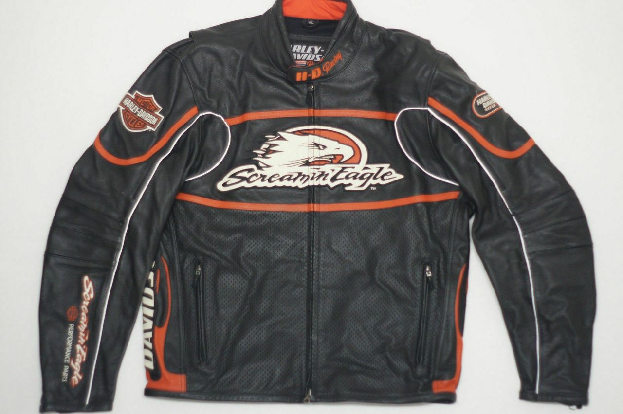 Harley Davidson Screamin Eagle jakke ønskes kjøpt | FINN.no
