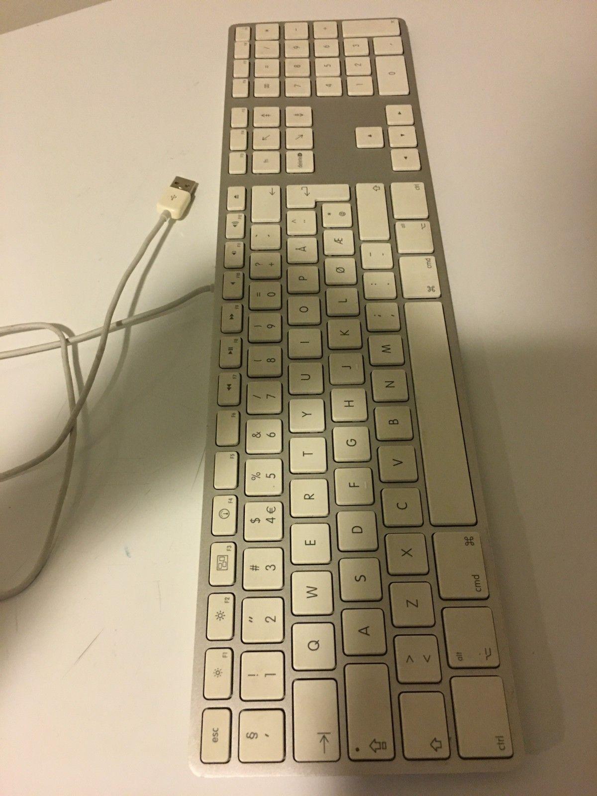 Apple tastatur og mus (brukt en gang) | FINN.no