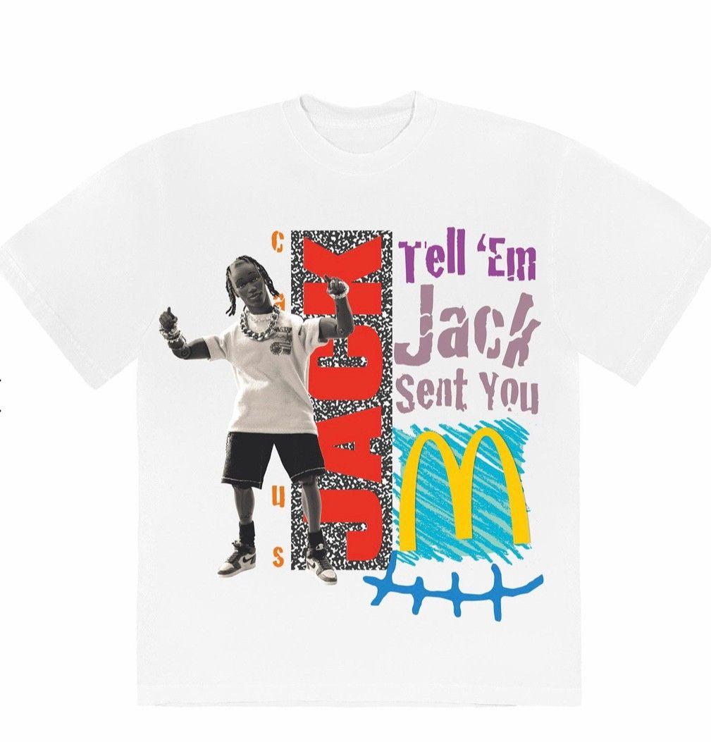 Travis Scott x McDonalds Cactus Jack t skjorte | FINN.no