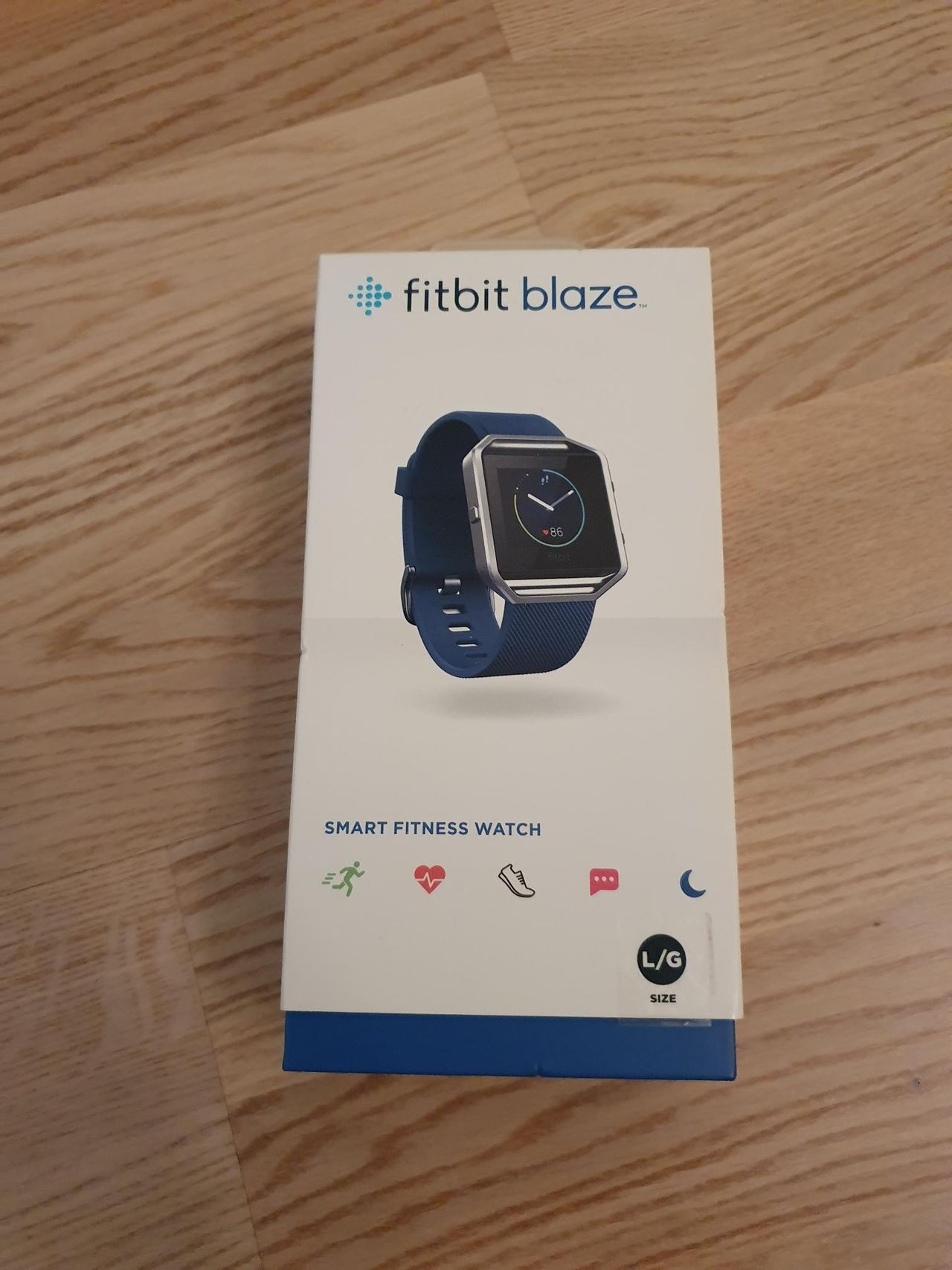 FitBit Blaze med lader selges | FINN.no